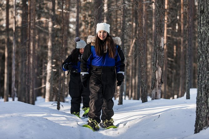 Snowshoe Trip in the Wilderness