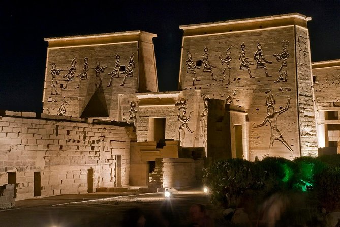 Private Philae Temple Sound And Light Show Aswan