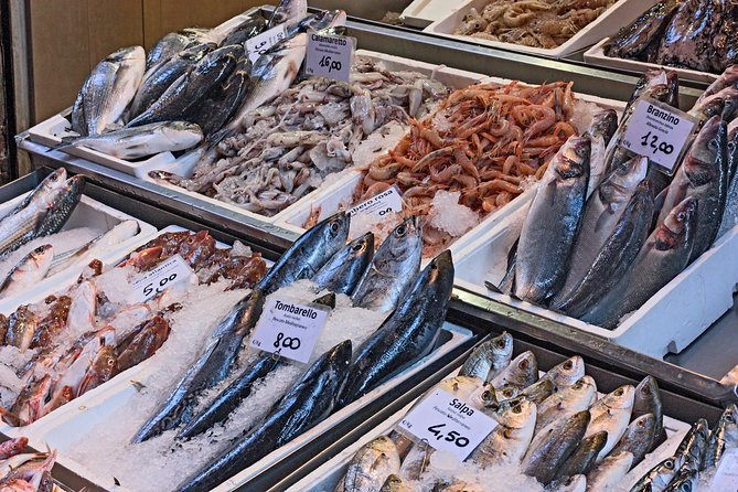 Small Group Market tour and Cooking class in Trieste