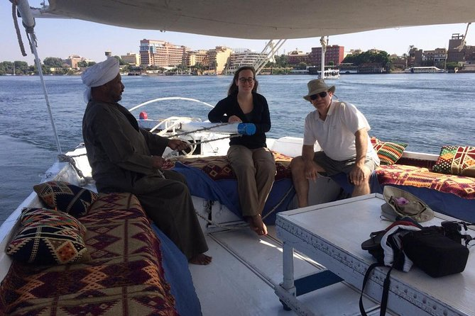 Private Day Tour To Luxor from Cairo by Plane,tours,sailing felucca&camel ride.