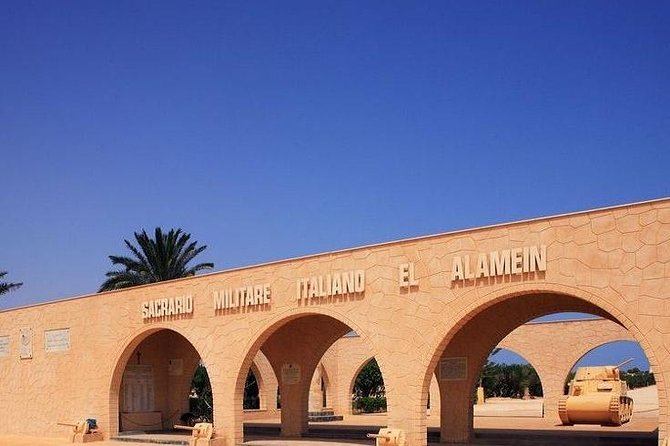 From Alexandria: El Alamein Day Tour
