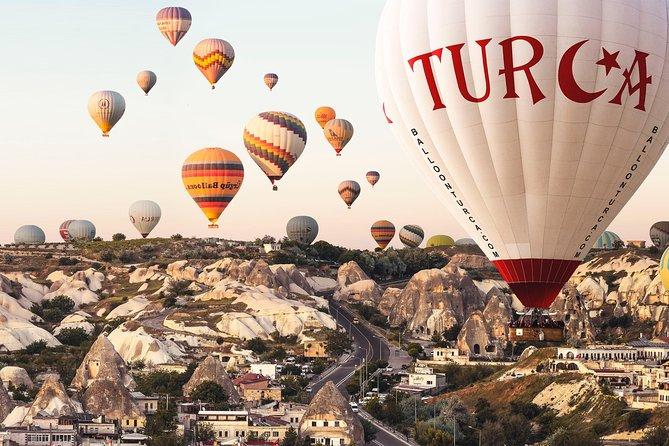 Cappadocia Sunrise Hot Air Balloon with Champagne breakfast