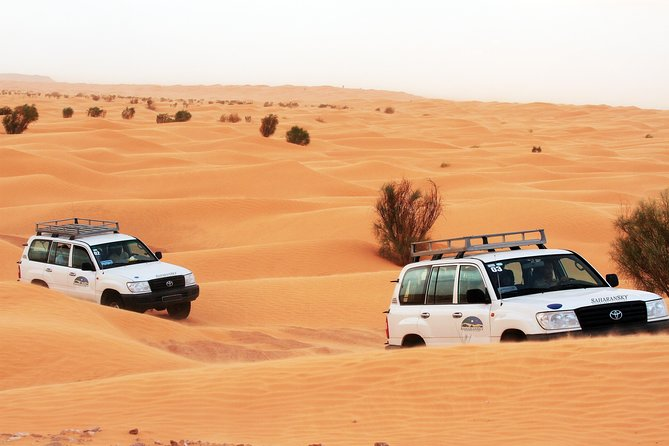 Overnight Tunisia Sahara Desert Safari by 4x4 from Djerba