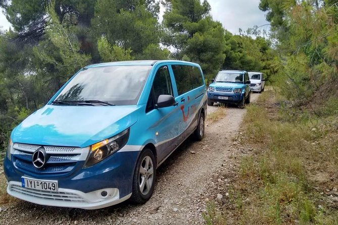 4x4 Full Day Safari Adventures in Attica with Premium Vehicles