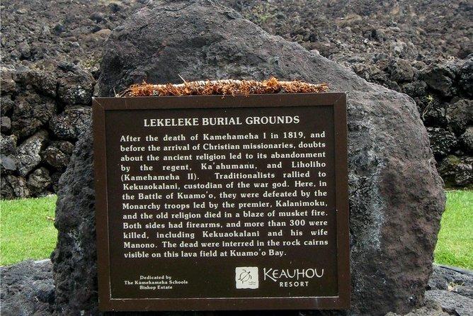 Battle Between Christianity and Traditional Kapu (Kona, Hawaii)