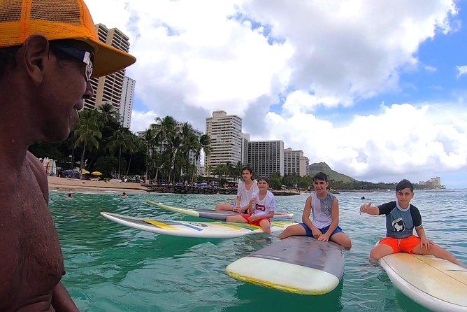 Waikiki 2 Hour Group Surf Lesson