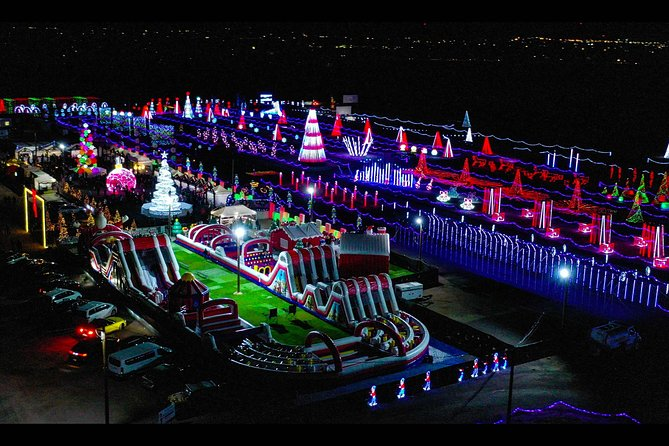 Christmas | Holiday light Illuminations Symphony of lights only 2 hour Tours