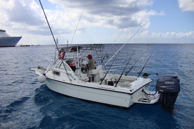 "Fishing trip economy boat ""Diana"" in Cozumel"