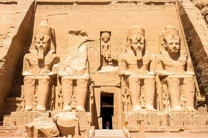 """Day Trip to Abu Simbel from Aswan by flight"