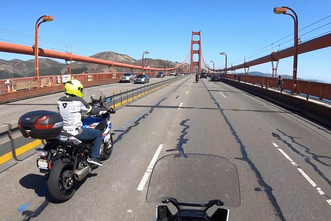 Day Motorcycle Tour | Ride The Golden Gate & Beyond