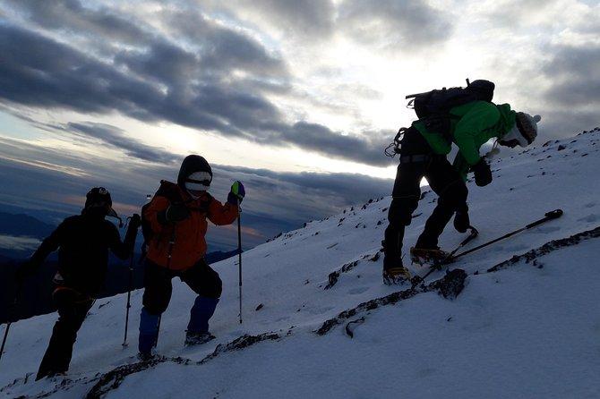 Ascent to Tungurahua Volcano