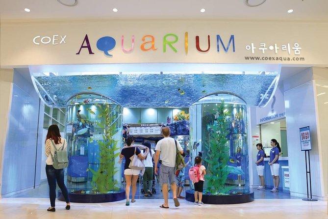 Entrance of the Coex Aquarium
