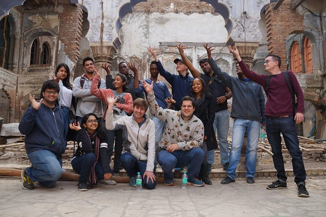 Private Tour: 3-Hour Old Delhi Heritage Walking Tour with Rickshaw Ride