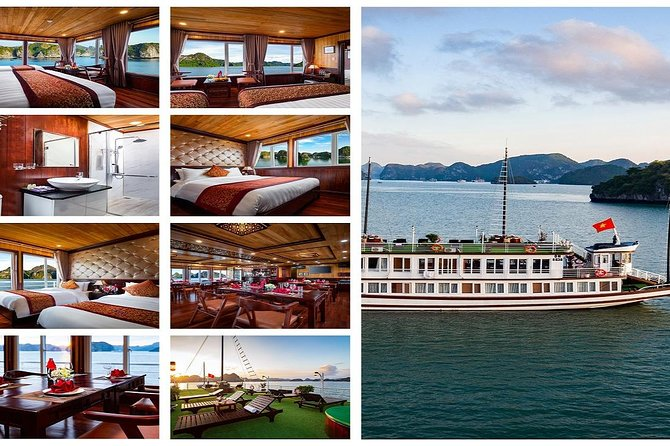 Lavender Elegance Cruise_2 Days 1 night: Meals,Tickets,Caves,Taichi and more