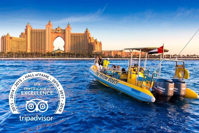 Dubai Ribcraft Speedboat Cruise: Dubai Marina, JBR, Ain Dubai & Bluewaters