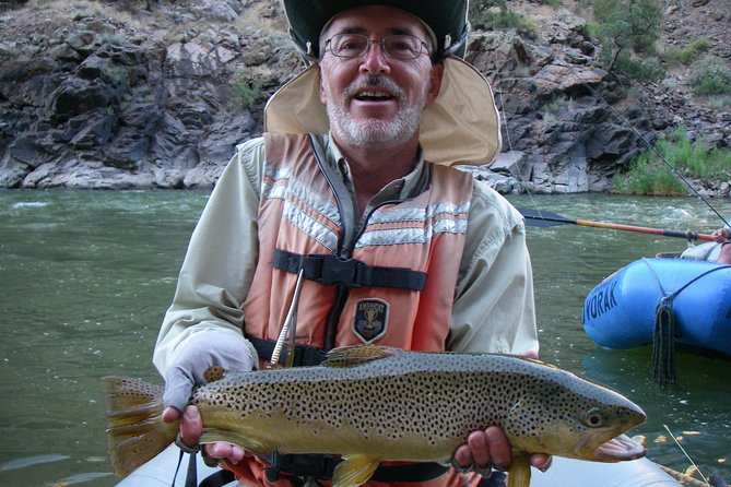 2-Day Gunnison River Gorge Float Fishing Trip