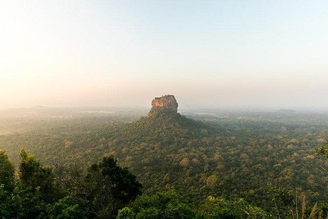 Sigiriya Rock Fortress and Dambulla Golden Cave Temple Day Tour