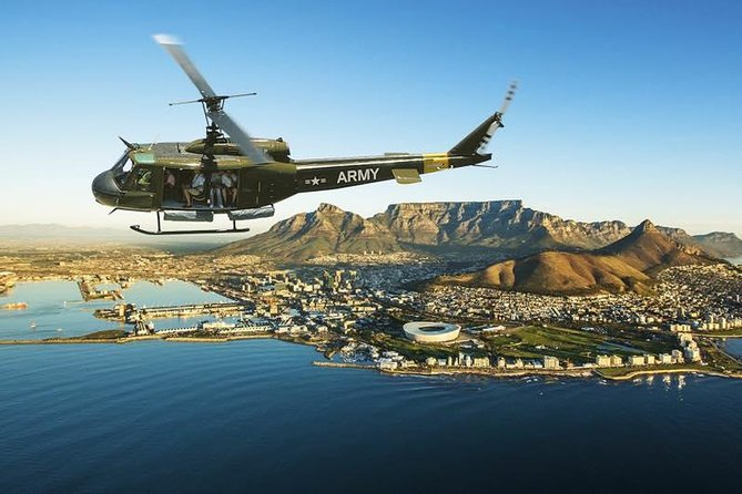 Huey Army Helicopter Adventure Flight in Cape Town