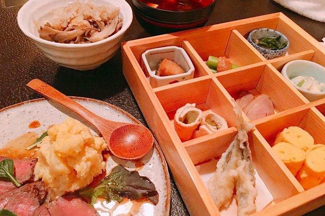 Kyoto Pontocho Walking Food Tour met Shabu Shabu-diner