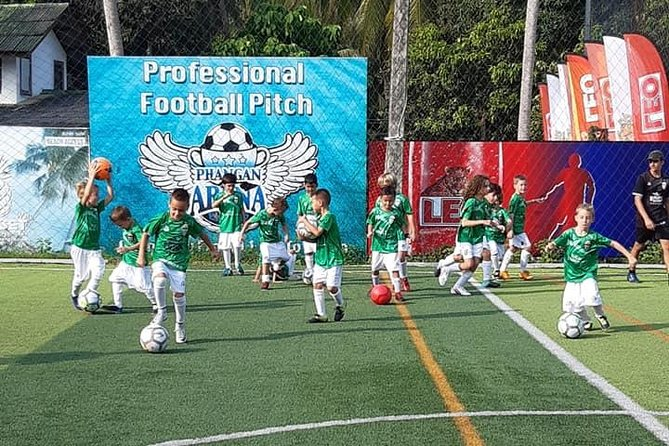 Football and tennis training for kids