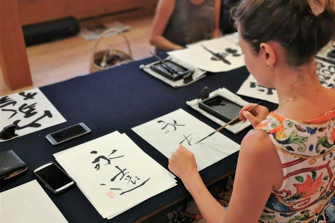Calligraphy classroom