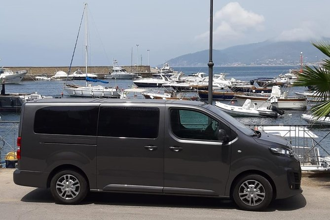 Private transfer from Naples Airport to Castellabate
