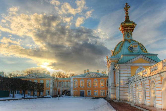 Winter Peterhof 4 Hour Tour with Pickup and Transfer