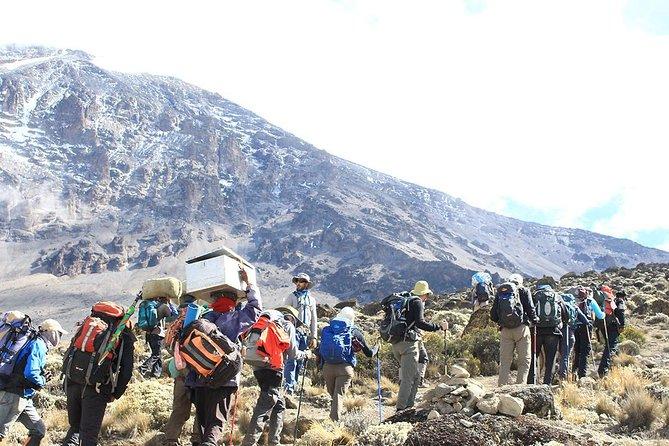 6 Days Mount Kenya Hiking- Chogoria Route
