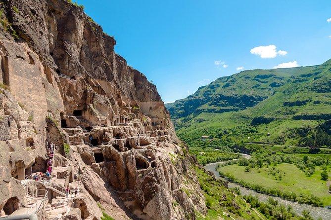 One-day tour to Vardzia CaveTown,Rabati Castle and Borjomi from Batumi, Kobuleti