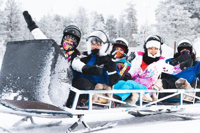 Santa's Sleigh Ride around the Arctic Circle from Rovaniemi