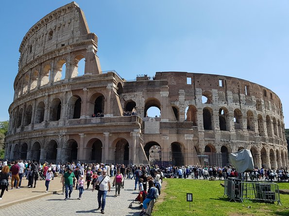 Small Group Tour Colosseum and Ancient Rome