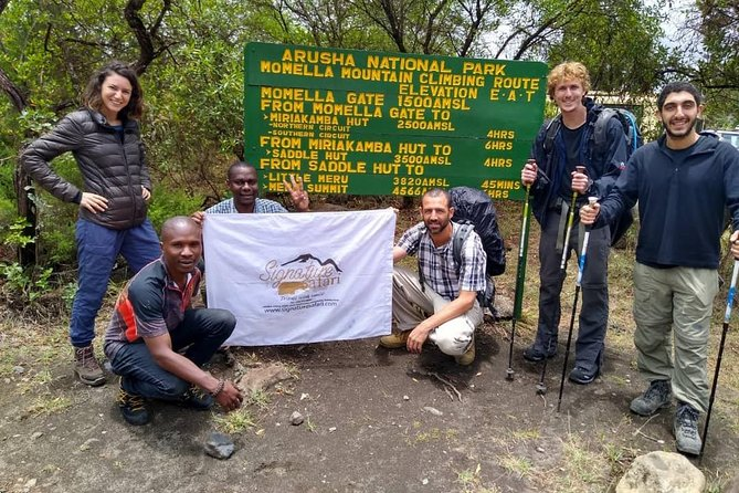 3 Day Mount Meru Climb photo 3