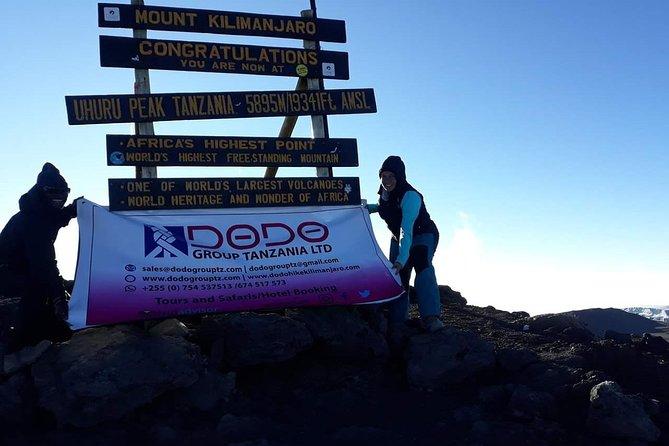 Kilimanjaro Climbing 7 days Marangu Route