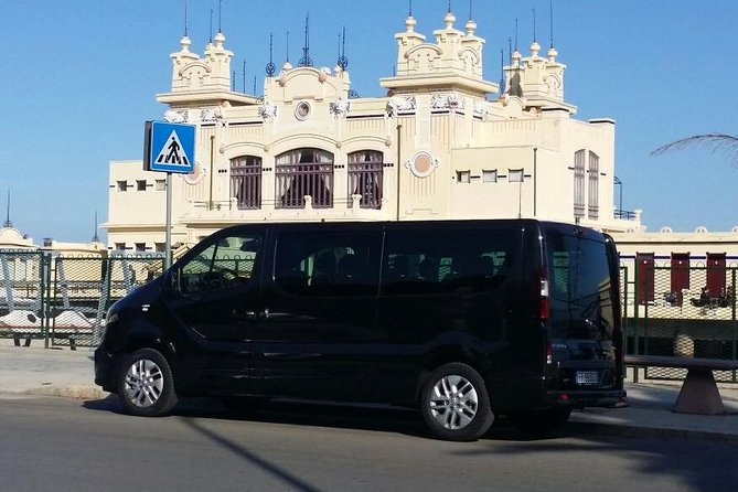 Standard transfer Palermo Airport / Palermo City