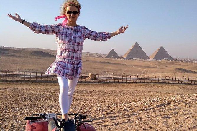 Quad Bike Safari Around Giza Pyramids