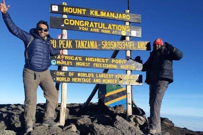 6 Days 5 Nights Kilimanjaro Climb Via Umbwe Route