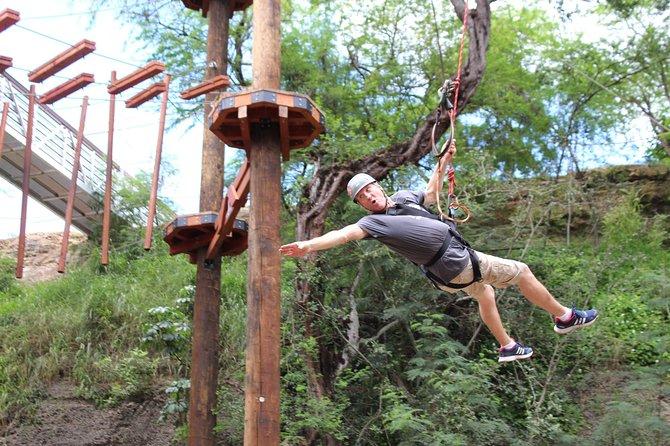 Zipline & Adventure Tower Package