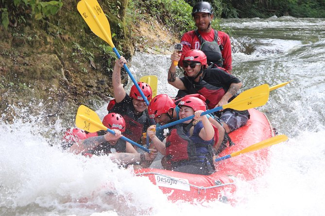 Full-Day Whitewater Rafting Sarapiqui Jungle Run Class 3-4 from La Fortuna