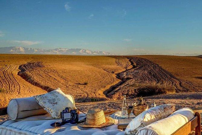Desert Agafay Full-Day Tour From Marrakech & Atlas Mountains with Camel Safari
