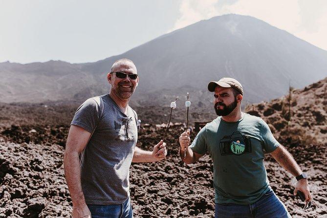 Climb an active Volcano, Pacaya Volcano.