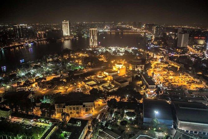 Cairo by Night (Nile Felluca – Cairo Tower-Khan el Khalili with Dinner)