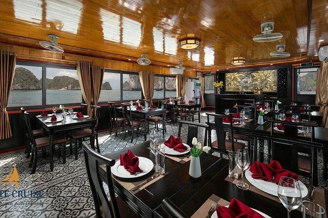 Elite Cruise - Luxury Halong bay- Lan Ha bay 7 hours cruising