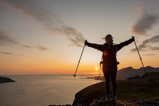 Midnight Sun Hiking Tour from Tromso