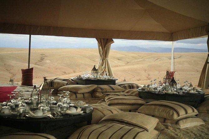 Berber lunch in the Agafay desert