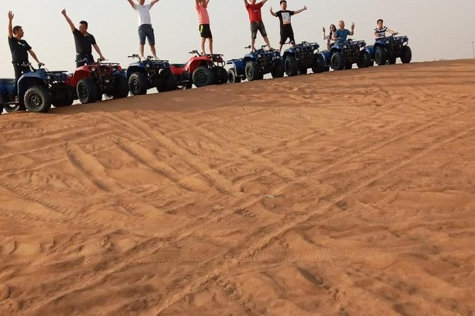Private - Morning Desert Safari with Dune Bashing and Sand Boarding photo 4