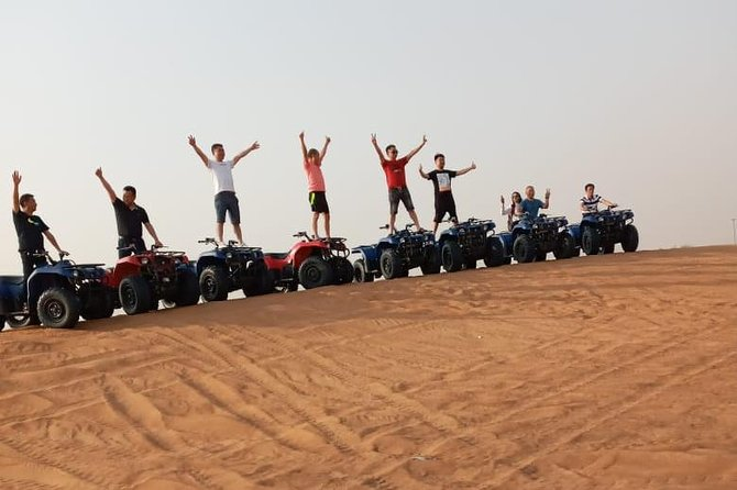 Evening Safari with Quad Bike, Camel Riding, BBQ Dinner and Dune Bashing