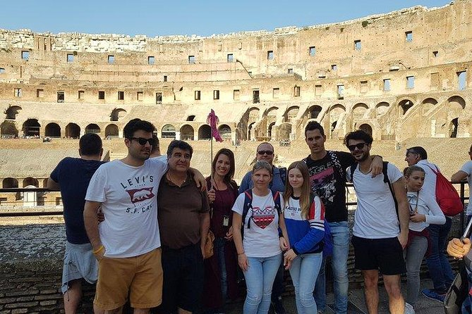 Colosseum tour with guide