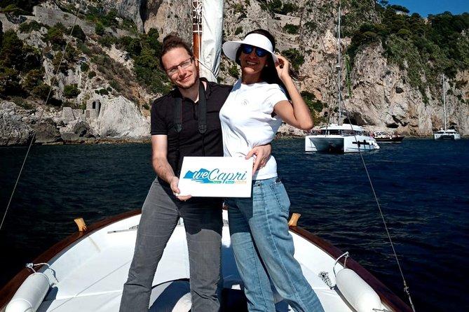 Walk and sail in Capri