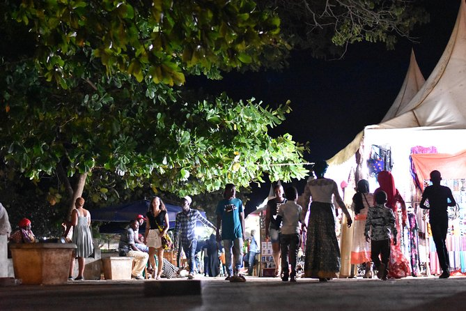 Stone Town Evening Walk Tour With Visit Food Markets