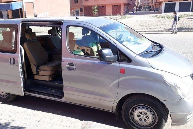 Transfert de l'aéroport de Marrakech à la ville